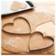 Keramika 2 Parça Kalp Yumurta Şekillendirici