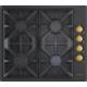 Lanova 36400 Rb Rustik Siyah Ankastre Ocak