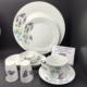 Kütahya Porselen Itır 8957 Desenli 39 Parça Kahvaltı Takımı