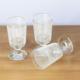 Joy Glass 3 Lü Beyaz Çizgili Bardak