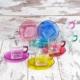 Joy Glass 12 Parça Carre Çay Seti - 6 Renk Tam Boyalı