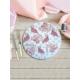 Keramika 1 Adet 25 Cm Servis Tabağı Kera Art Flamingogil