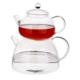 Tantitoni Borosilikat Cam Çaydanlık Takımı