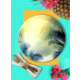 Keramika Delta Servis Tabağı Tan Palmiye 17000