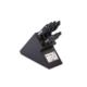 Fıssler Sıgnum Siyah Bloklu Bıçak Seti 8Prç