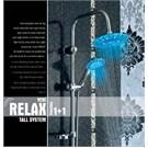 Dıamond Yeni Relax Led Işıklı Şemsiye Duş Sistemi