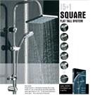 Dıamond Nour Square Şemsiye Duş Sistemi (Kare+Oval)