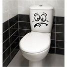 Dekorjinal Banyo Sticker Wc08
