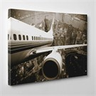 Tabloshop - Airplane Canvas Tablo - 75X50cm