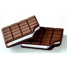 Chocolate Notebook - Çikolata Not Defteri Siyah