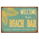 Dolce Home Retro Beach Bar Tablo 17