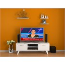 Woodlife Carmen Tv Ünitesi (3 Raf Hediyeli)- Beyaz