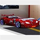 Arabalı Yatak - M3 Extreme - Full Isıklı - Kırmızı