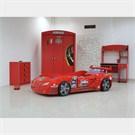 Arabalı Yatak - Formula Genç Odası - Kırmızı