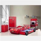 Arabalı Yatak - Hızlı Genc Odası - Kırmızı