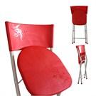 Katlanır Sandalye - Kırmızı