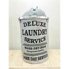Alla Turca Laundry Service Gri Çamaşır Sepeti