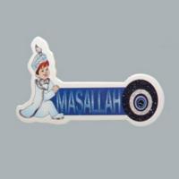 Tahtakale Toptancısı Sticker Sünnet Çocuğu Maşallah Nazarlı (50 Adet)