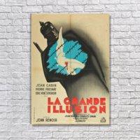 Albitablo Poster Love La Grande Illusion Kanvas Tablo