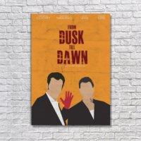 Albitablo Poster Love From Dusk Till Dawn Kanvas Tablo