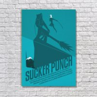 Albitablo Poster Love Sucker Punch Kanvas Tablo