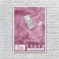 Albitablo Poster Love Seven Pride Kanvas Tablo
