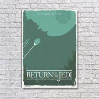 Albitablo Poster Love Return Of The Jedi Kanvas Tablo