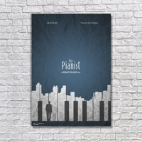 Albitablo Poster Love Pianist Kanvas Tablo