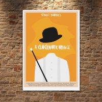 Albitablo Poster Love A Clockwork Orange 1 Kanvas Tablo