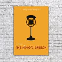 Albitablo Poster The King's Speech Kanvas Tablo