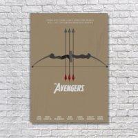 Albitablo Poster The Avengers Kanvas Tablo
