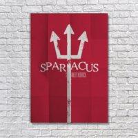 Albitablo Poster Spartacus Kanvas Tablo