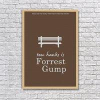 Albitablo Poster Forest Gump 1 Kanvas Tablo