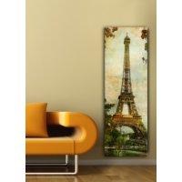 Decostil Kanvas Tablo - 30 x 90 cm Eyfel
