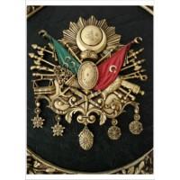 M3 Decorium Osmanlı Arması Poster