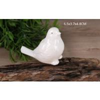 Gönül Porselen Porselen Beyaz Küçük Boy Kuş Biblo
