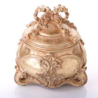 Biev Aksesuar Antik Takı Kutusu 14.50x14.50x16.20 cm