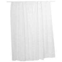 Erol Teknik Polyester Beyaz Banyo Perdesi