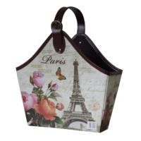 Giz Home Gazetelik Tek Saplı Carte Eyfel Paris Küçük
