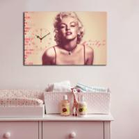 Mania Mariyln Monroe 45x70 cm Kanvas Saat