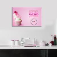 Mania CupCakes 45x70 cm Kanvas Saat