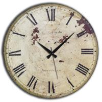 Frank Ray 60 cm MDF Wall Clock Eskitme