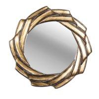 Artmosfer Dillon Dekoratif Altın Varaklı Ayna - İçiçe Sarılmış
