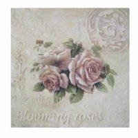 Artmosfer Dekoratif Ahşap Tablo Roses