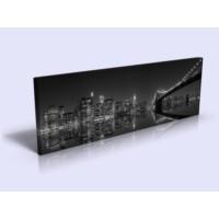 Bonaviya Brooklyn Köprüsü XXL Boy Kanvas Tablo -120x40 cm