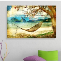 Arse Hamak Dekoratif Kanvas Tablo 50x70 cm
