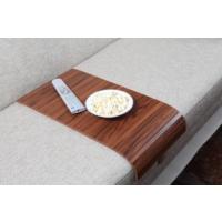 Esser Kanada Ceviz Koltuk Sehpası - 30x60 cm