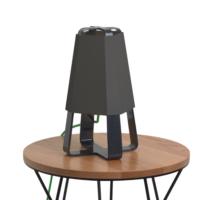 Bucca Design Lubet Mini Masa Lambası - Siyah