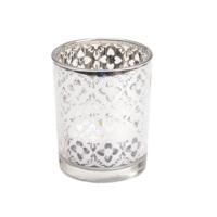 La Maison des Fleurs Gümüş Mini Mumluk