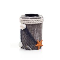 DecoTown Deniz Yıldızı Ahşap Mumluk